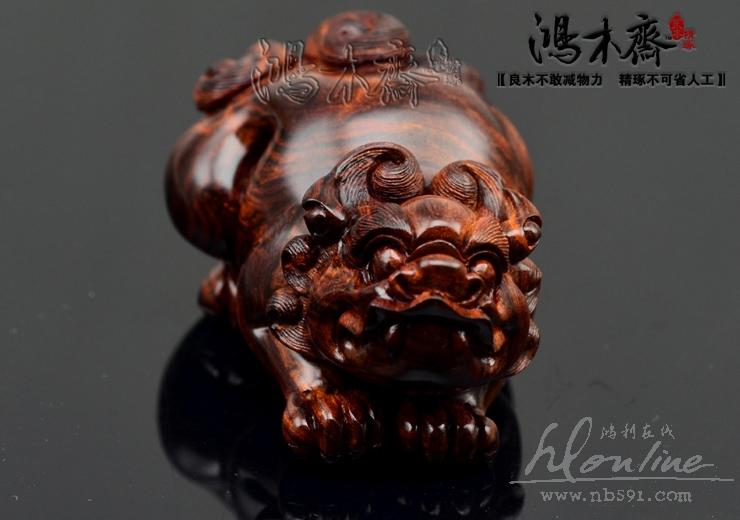 朱砂小石雕工艺品展示