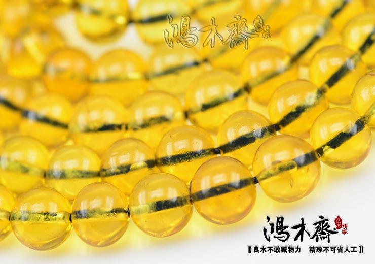 多米尼加蓝珀108颗第二选择极品缅甸蓝珀8MM证书孤品净水HP72 (13).JPG