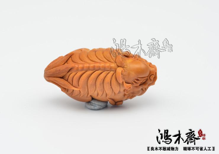 百吉雕刻橄榄核雕貔貅仲庸款大单核吊坠孤品鸿木斋包邮G10 (7).JPG