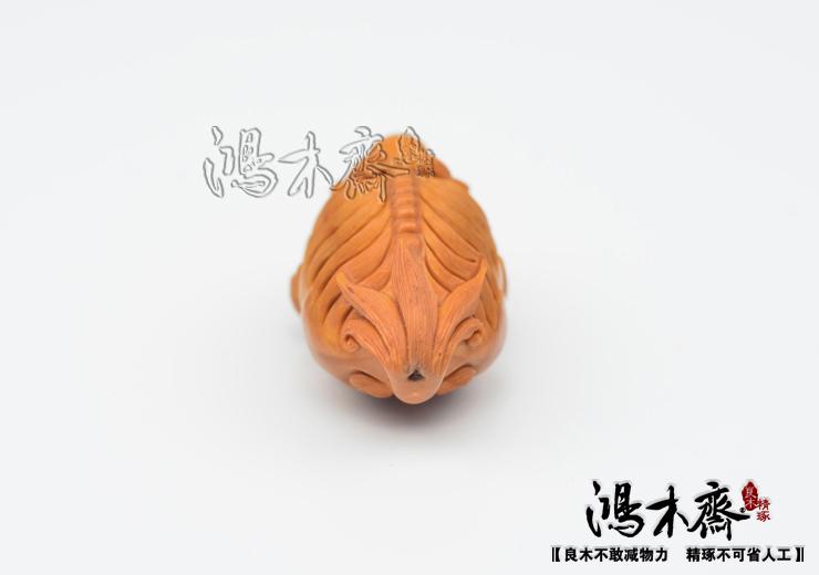 百吉雕刻橄榄核雕貔貅仲庸款大单核吊坠孤品鸿木斋包邮G10 (5).JPG