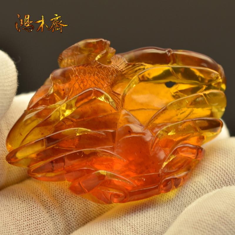 螃蟹抓鱼缅甸琥珀HP130 (3).JPG