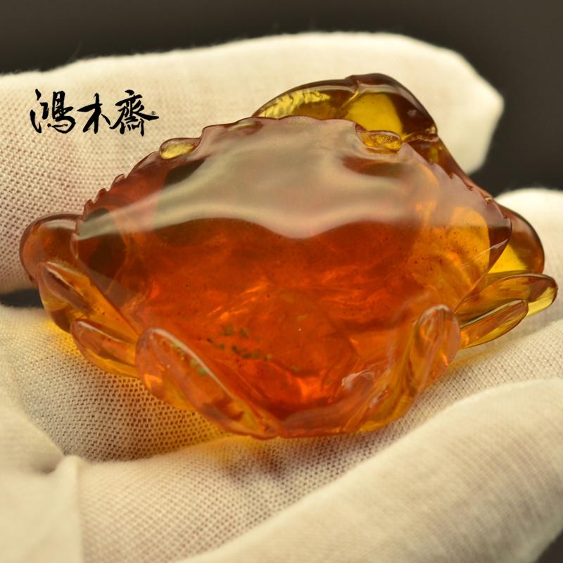 螃蟹抓鱼缅甸琥珀HP130 (4).JPG