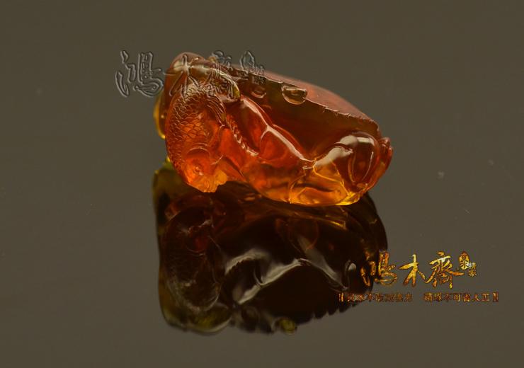 螃蟹抓鱼缅甸琥珀HP130 (8).JPG