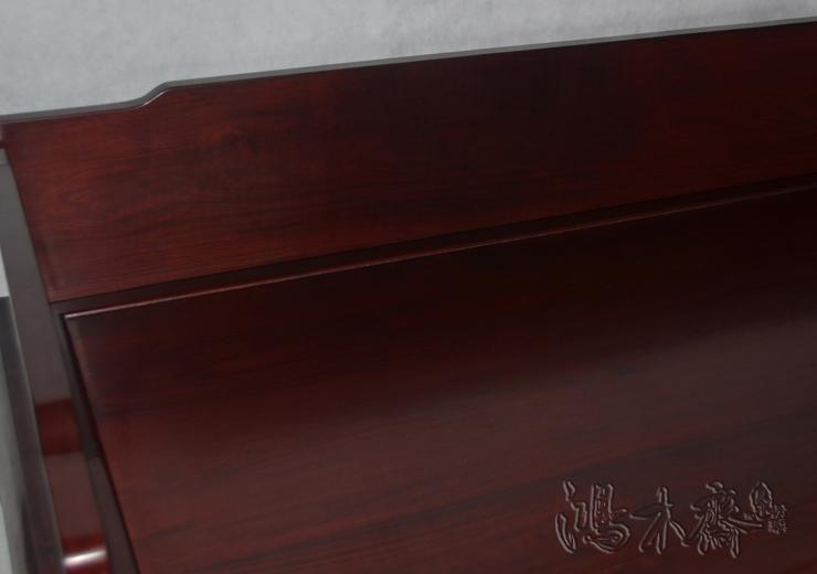 鸿木斋 红酸枝 罗汉床 奥氏黄檀 红木家具 缅甸老料酸枝 HJJ07 (11).JPG