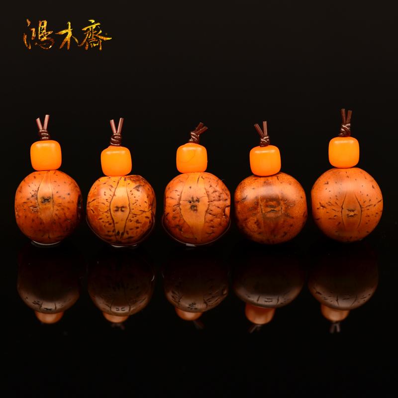 鸿木斋 菩提根佛头 15-16MM 五年老红皮 凤眼佛头 F172 (2.5).JPG