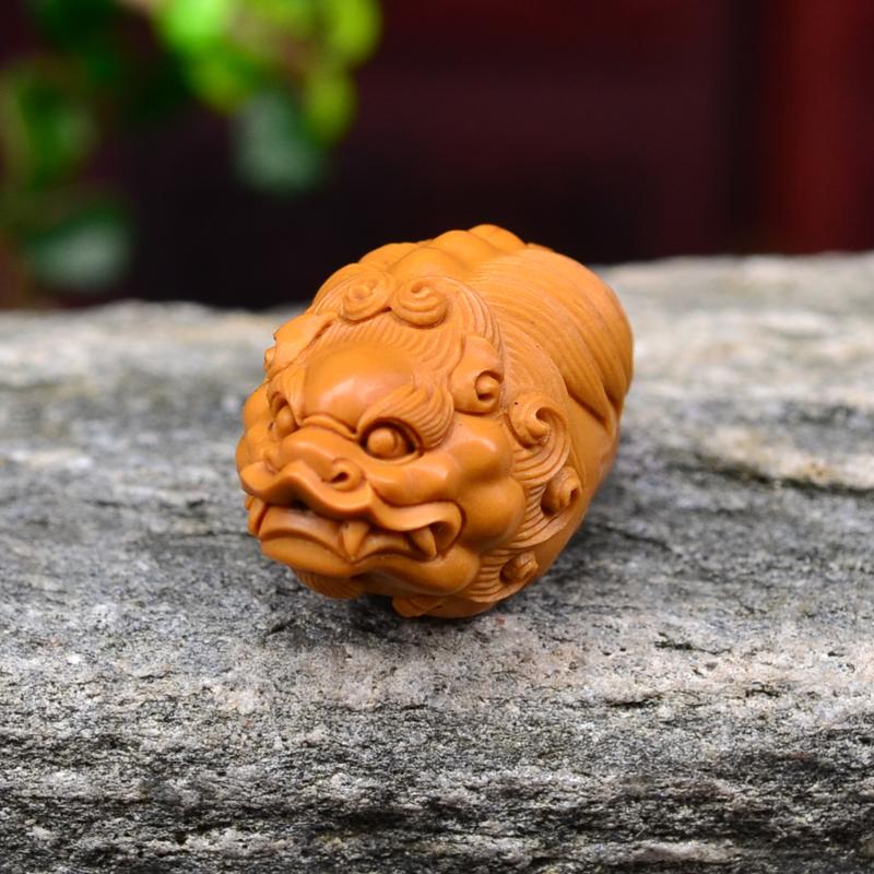 ————————————— 橄榄核大籽手工雕刻 貔貅  货号&价格