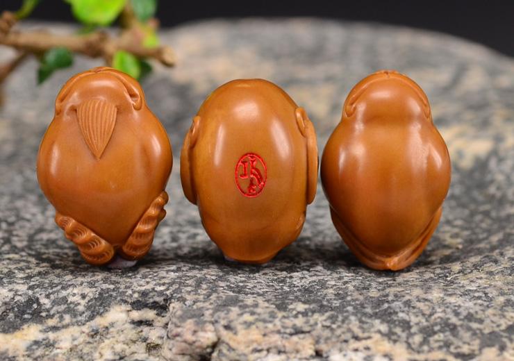 鸿木斋 橄榄核雕十二生肖 鸿款雕刻橄榄胡手串 孤品G123 (19).JPG