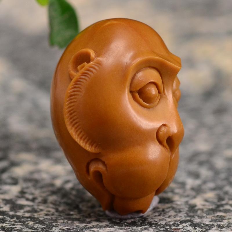 鸿木斋 橄榄核雕十二生肖 鸿款雕刻橄榄胡手串 孤品G123 (6).JPG