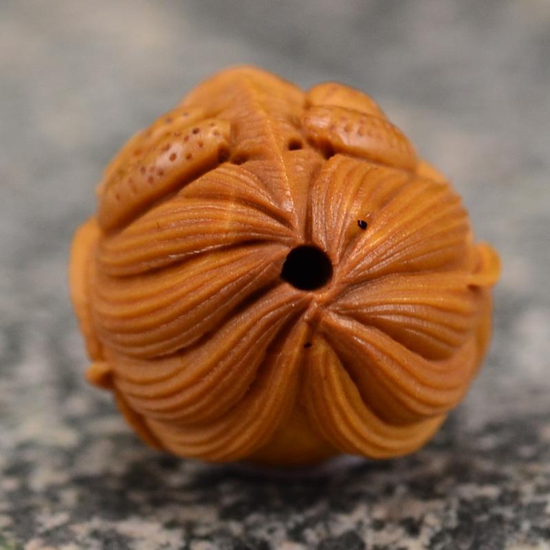 鸿木斋 橄榄核雕十二生肖 鸿款雕刻橄榄胡手串 孤品G123 (5).JPG