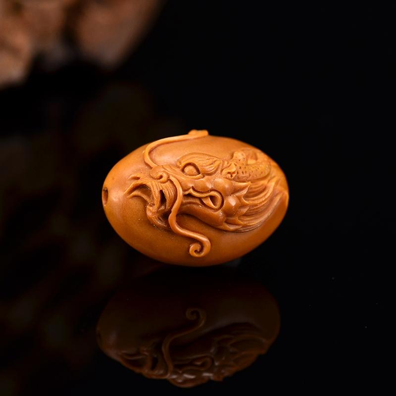鸿木斋 橄榄核手串 鸿款雕刻十二生肖手链 孤品G245 (7).JPG