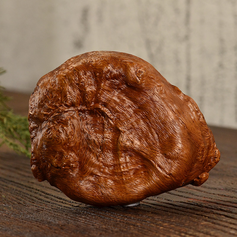 鸿木斋荔枝木茶则 艺术根雕茶展摆件孤品LZ02 (6).JPG