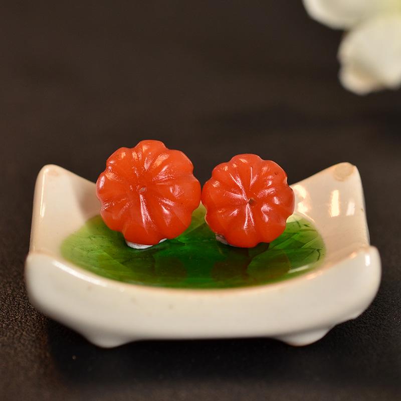 鸿木斋 南红玛瑙散珠 天然保山南红柿子红N3419 (6) .JPG