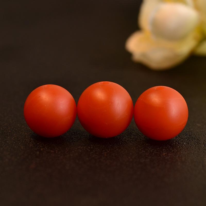 鸿木斋 南红玛瑙散珠 天然保山南红柿子红N3502 (2).JPG