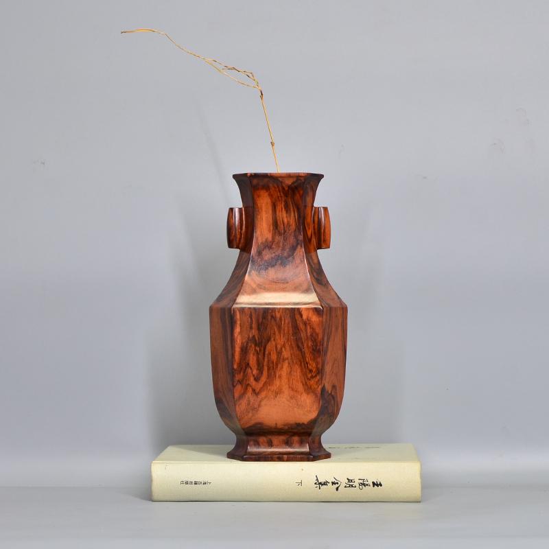 鸿木斋 海南黄花梨大摆件花瓶摆件H7162 (4).JPG