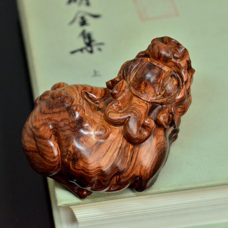 海黄貔貅海南黄花梨老料雕刻把件摆件孤品H7236 (4).JPG