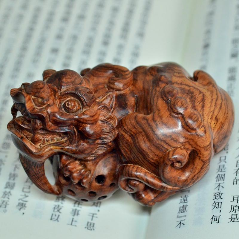 海黄貔貅海南黄花梨老料雕刻把件摆件孤品H7236 (2).JPG