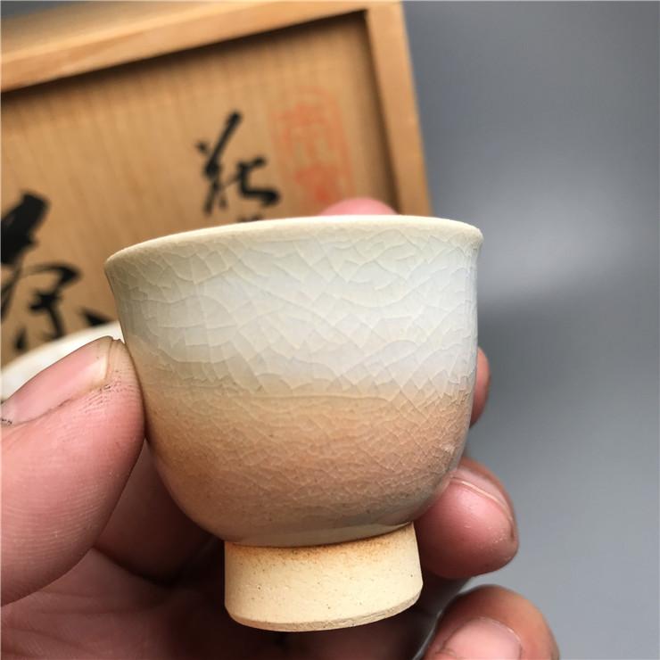 鸿木斋 日式茶具 日本萩烧茶具茶道套装 主人杯 CJ156 (8).jpg