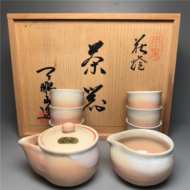 鸿木斋 日式茶具 日本萩烧茶具茶道套装 主人杯 CJ156 (1).jpg