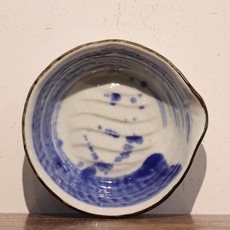 鸿木斋 日式茶具 日本瓷制果子皿套装 孤品CJ159 (2).jpg