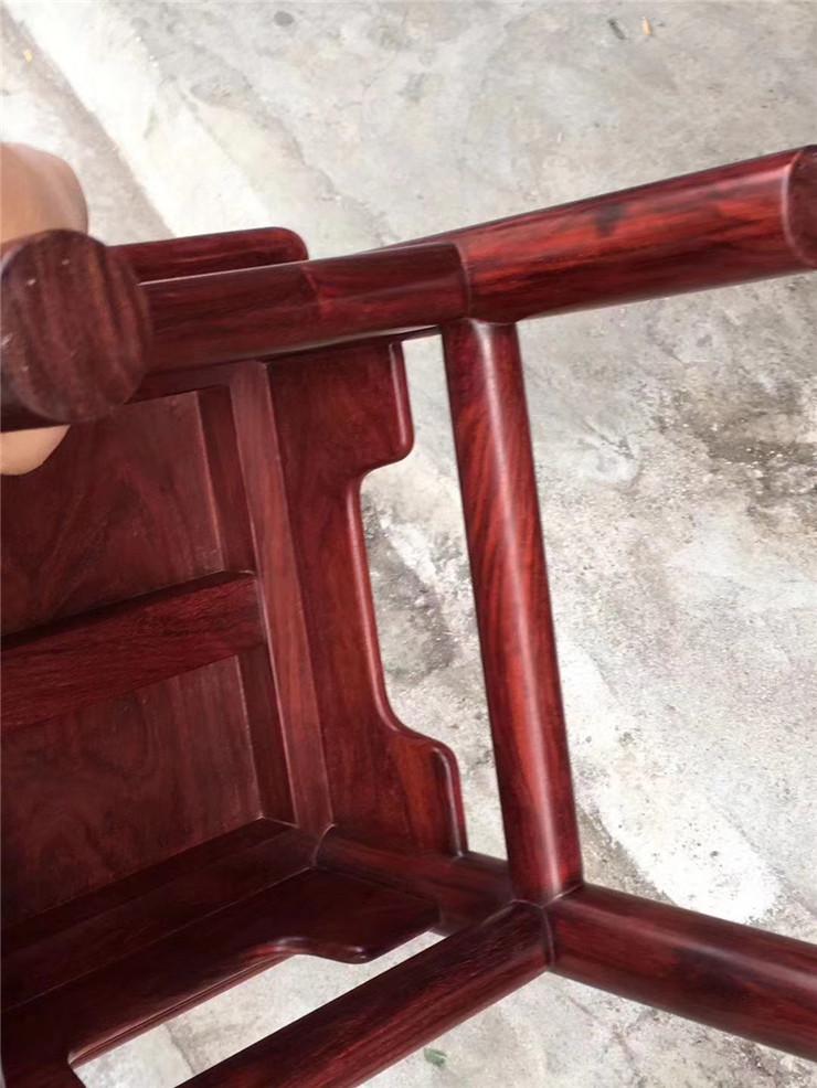 鸿木斋 紫檀摆件 印度小叶紫檀富贵凳 孤品Z1841 (7).jpg