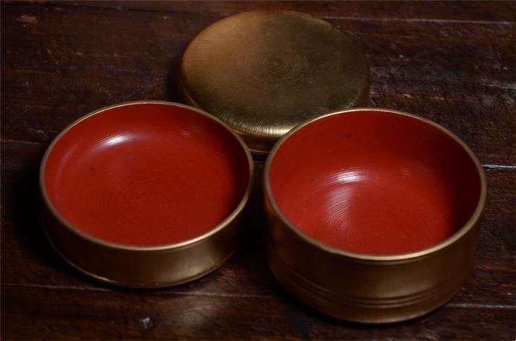 鸿木斋 日式茶具 日本回流昭和时期果子盒 孤品CJ287 (6).jpg
