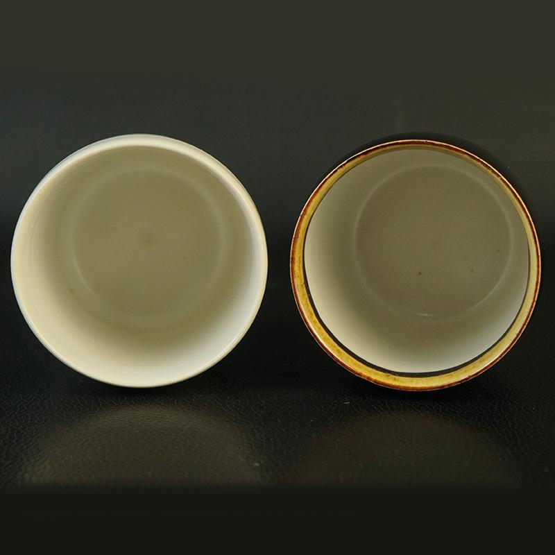 鸿木斋 日式茶具 日本回流昭和时期夫妻杯 孤品CJ280 (2).jpg